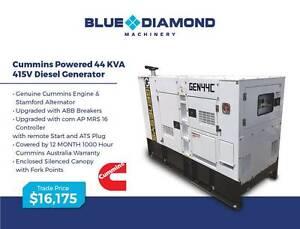 44KVA - 550KVA Cummins - Large Diesel Generators - 1500 RPM Gordon Ku-ring-gai Area Preview