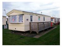 Holiday caravan (8 Berth) in Chapel St Leonards on the beautiful Lincolnshire Coast