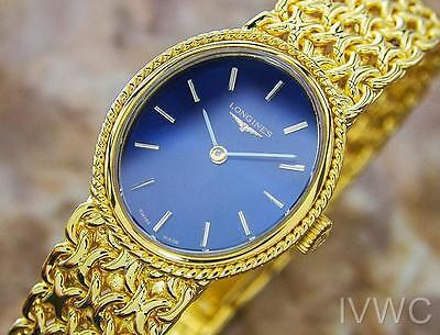Longines Rare Ladies Gold Plated Luxury Manual Dress watch Circa 1970s B21
