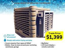 LARGE Mobile Evaporative Air 200m2 conditioner 12 speed - cooler Kewdale Belmont Area Preview