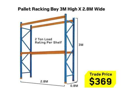 Pallet Racking Dexion Compatible – Package Deals – Warehouse -NEW Kewdale Belmont Area Preview