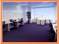 ●(Tower Hill-E1W) Modern & Flexible - Serviced Office Space London!