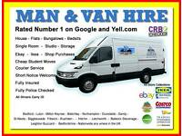 ST NEOTS CHEAP MAN VAN HIRE 6am to 11pm HOUSE FLAT OFFICE REMOVAL COURIER BUSINESS SERVICE EBAY