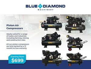 Air Compressor - Piston 18-42CFM 160 Lt Diesel / Petrol /Electric Greenslopes Brisbane South West Preview