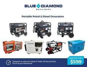 Portable Petrol & Diesel Generator –2KVA-12KVA *Silent*Key Start* Greenslopes Brisbane South West Preview