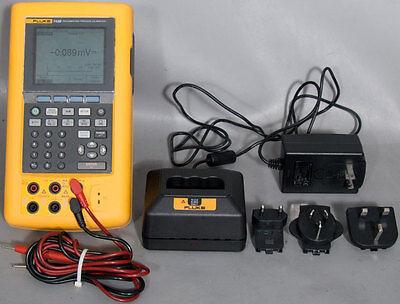 Fluke 743b Documenting Process Calibrator Metersourcemetervoltmeterdmm