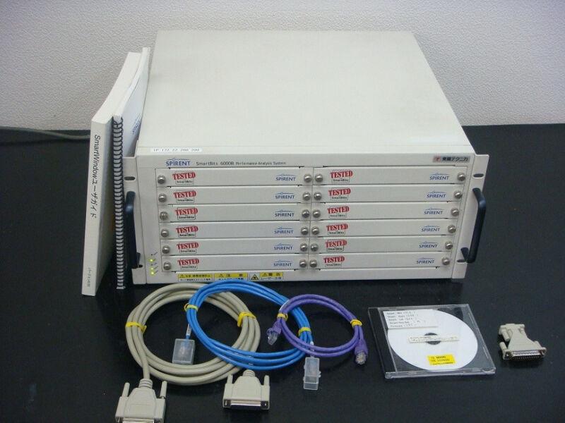 SPIRENT SMB6000B Smartbit MultiPort Tester