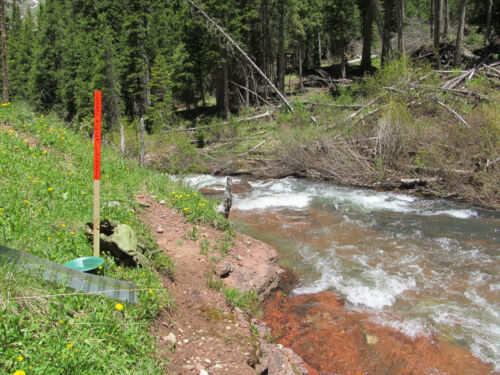 Colorado Placer Gold Mine Creek Mining Claim Silver Panning Sluice Snipe