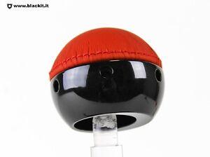 Pomello-500-pelle-rossa-base-nera