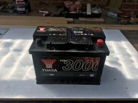 Brand New Landrover Car Battery, 12 volt, YUASA VBX3096 Wrong size hence the sale