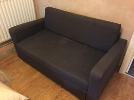 TWO SEATER SOFA IKEA BED CONVERTED