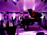 Pianist for all specials occasions and events (White Baby Grand Piano Available)
