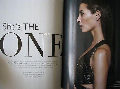 Super Rare Magazine Christy Turlington Amber Valletta Editorialist Brand New