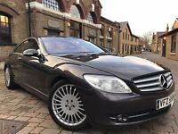 MERCEDES CL500 5.5 COUPE FULL SERVICE HISTORYHPI CLEAR