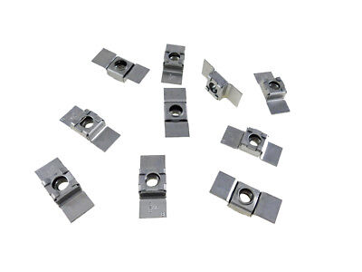 10 Pack 38-16 Floating Cage Nut - Weldable Stamping  Nr 3816