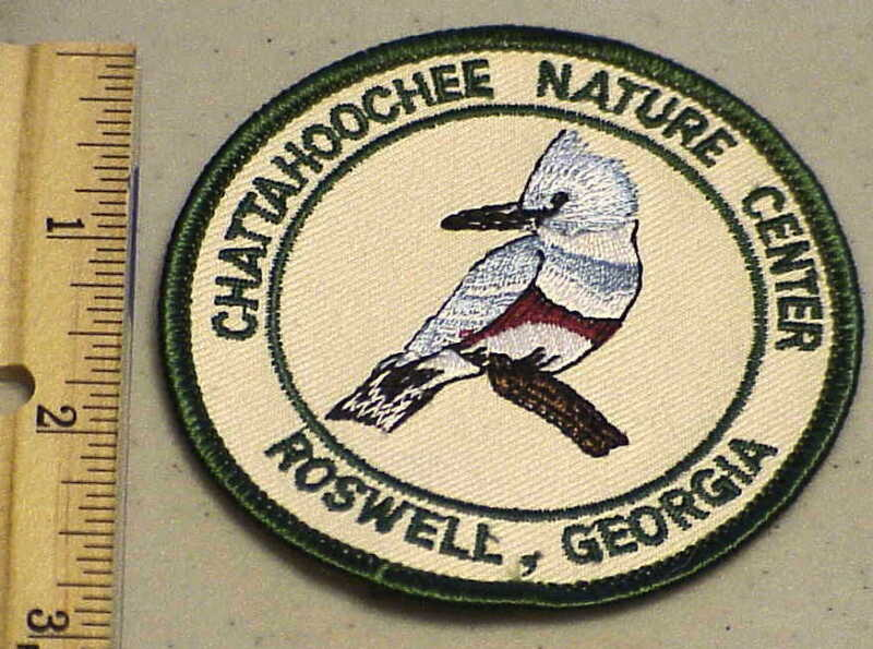 CHATTAHOOCHEE NATURE CENTER ROSWELL, GEORGIA ADVERTISING PATCH NEW FREE SHIPPING