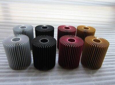 Extraordinary Aluminium LED Heatsink, RED, 80.4 cm length! usato  Spedire a Italy