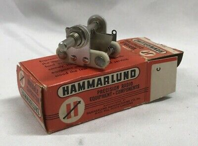 Hammarlund Mc-20-s Air Variable Capacitor For Ham Radio Project In Original Box