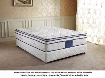 KING SIZE Luxury Pillow Top Mattress NEW, Not ensemble Forest Lake Brisbane South West Preview