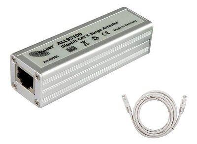 Blitzschutz Netzwerk Überspannungsschutz für DSL Internet Server Router Allnet