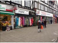Large shop for rent next to TESCO express for Grocery,Hairdresser salon,catering,cafe. good location