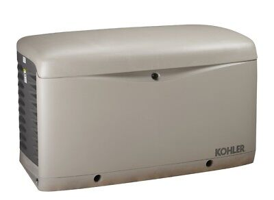 Kohler 20kw Stationary Back-up Power Generator Lp Vapor Or Natural Gas 20resc