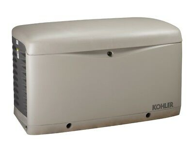 Kohler 14kw Stationary Back-up Power Generator Lp Vapor Or Natural Gas 14resa
