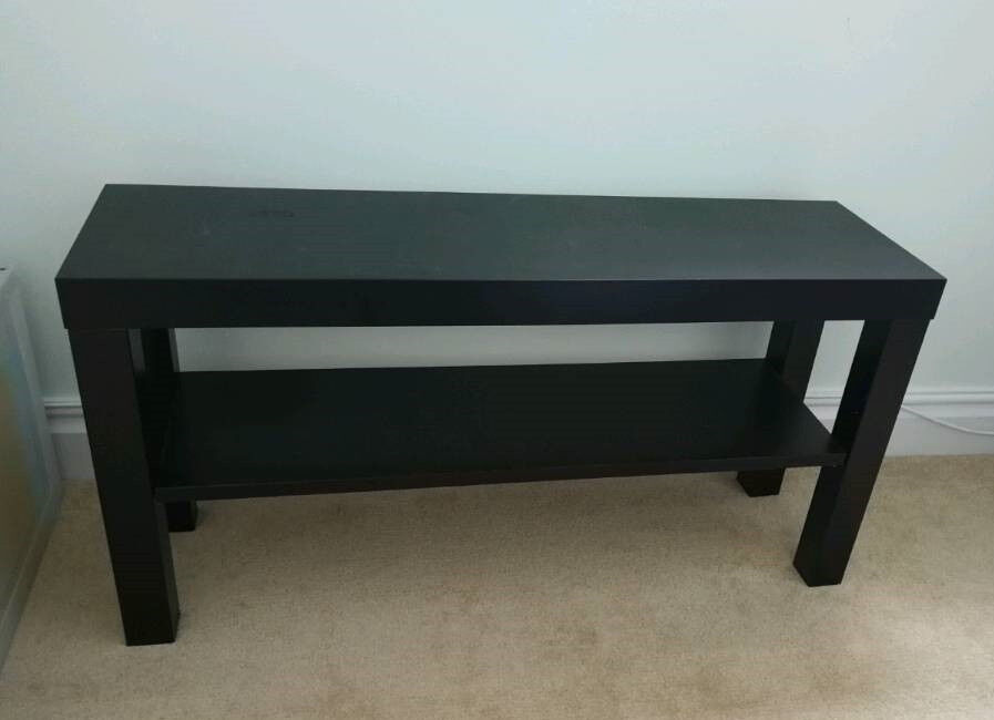 BLACK TV Stand / Slim Coffee Table / Bench / Side Table