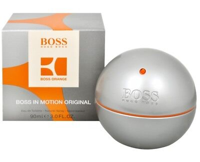 PARFUM HUGO BOSS BOSS IN MOTION EAU DE TOILETTE 90ML Neuf