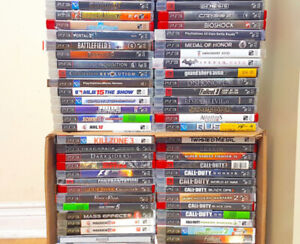 PS3  Games ( $15 Each or 4  for $50) PickUpOnly