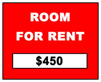 ROOM FOR RENT - STUDENT $450 (Downtown)
