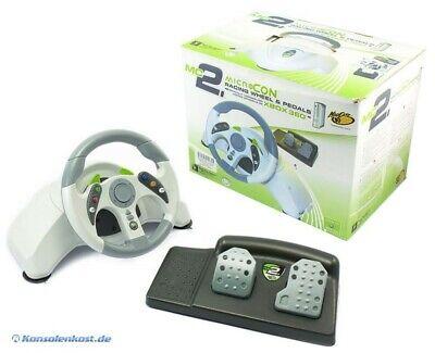 Xbox 360 volante Microcon Racing Wheel & Pedale [Madcatz] nell'imballaggio usato, usado comprar usado  Enviando para Brazil