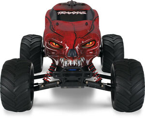 TRAXXAS Craniac 2WD Monster Truck (Red or Orange) Windsor Region Ontario image 3