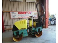 AMMANN AV12-2 DOUBLE DRUM VIBRATING ROLLER, 2011