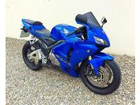 HONDA CBR 600RR - EXCELLENT STANDARD MECHANICALLY EXAMPLE THROUGHOUT - PX