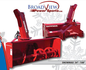SNOW BLOWERS for TRACTORS