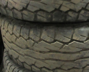 Good Used Tires 255/65/16 75% tread—TWO TIRES