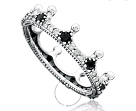Pandora Crown Sterling Silver Ring