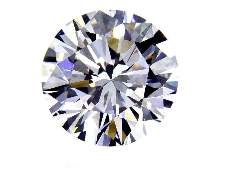5 CT Natural Loose Diamond I Color SI1 Clarity GIA Certified Round Cut Brilliant