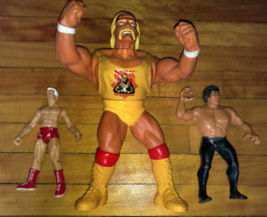 Vintage Wrestling Figures Hulk Hogan Ric Flair