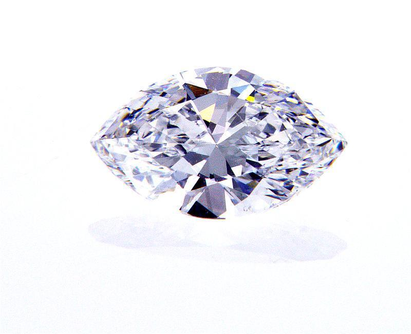 Marquise Cut Natural Loose Diamond 0.70 CT D Color VS2 Clarity GIA Certified