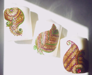 HENNA CANDLES FOR SALE