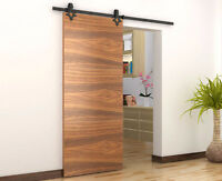 barn door hardware and doors with soft close and free shipping