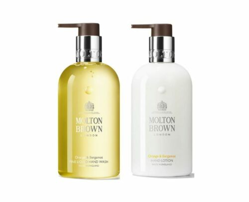 Molton Brown Orange & Bergamot Hand Lotion & Hand Wash - NEW SEALED AUTHENTIC