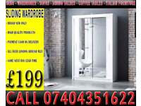 CHEAPEST OFFER BRAND NEW 2 OR 3 DOOR WARDROBE (SLIDING) MIRROR