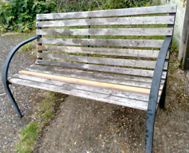 Outdoor Back Bench