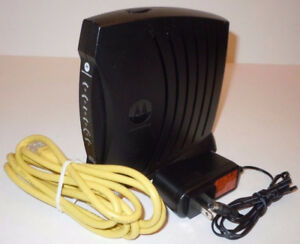 Motorola SurfBoard SB5100 modem, used with TekSavvy