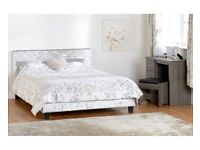 Double Crushed Velvet Prado Bed From Only £130
