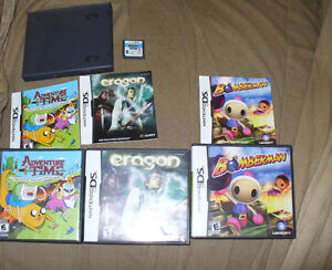 Nintendo DS  box lout of 5 games