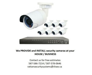 Security Cameras Installation l CCTV system